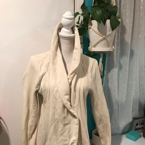 Lucky brand long loose button cardigan